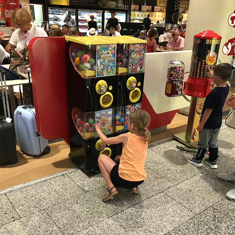 Spielzeugautomaten