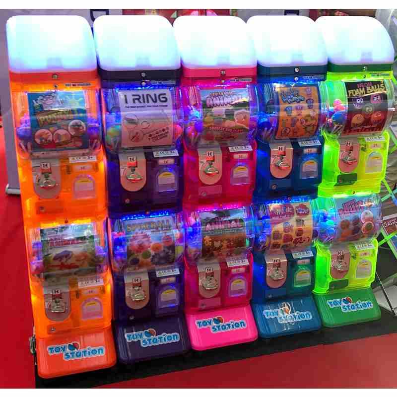 10er LED Tomy Spielzeugautomat